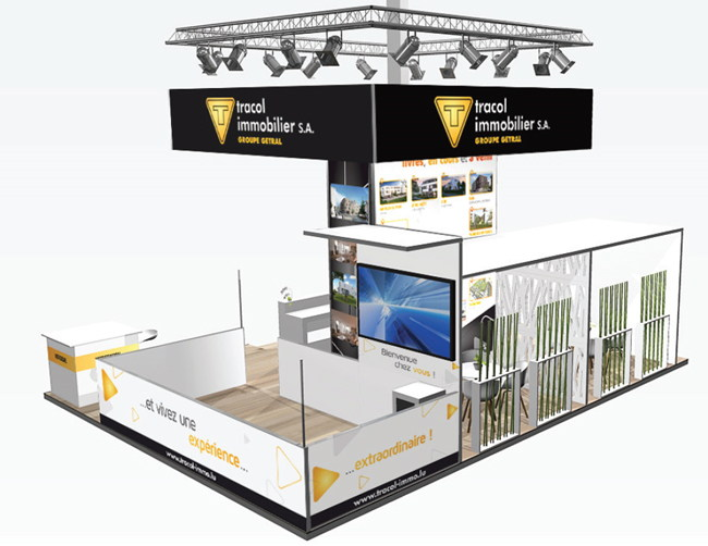 Stand modulaire Tracol