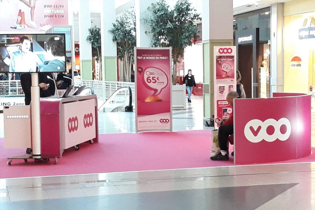 pop-up store voo